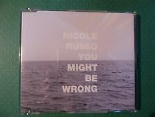 Nicole Russo 'You Might Be Wrong' CD (2002) Collectable Promotional Copy Rare