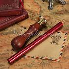 Siegel-set Siegel stempel 26 Buchstabe +Siegellack Siegelwachs in Rot Petschaft