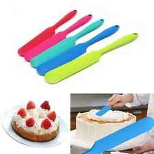 Kuchen Sahne Butter Spachtel mischen Teig Schaber Silikon Backen Werkzeug KAKI