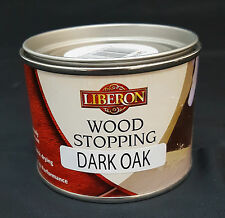 Liberon Wood Stopping DARK OAK 125ml- Quick Drying Ready to Use