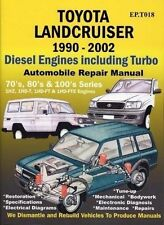 TOYOTA Landcruiser 1990 to 2002 Car Book Paper