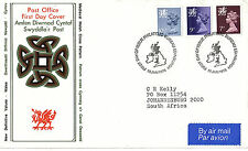 18 JANUARY 1978 ALL 3 WALES DEFINITIVE VALUES PO FIRST DAY COVER BUREAU SHS (a)