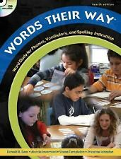 Words Their Way 4th (fourth) edition Text Only Donald R. Bear,Marcia Invernizzi