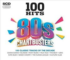 100 Hits: 80s Chartbusters New CD
