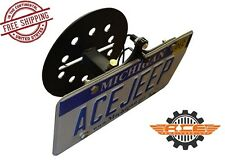 Ace Engineering Spare Tire License Plate Relocation 07-16 Jeep Wrangler JK