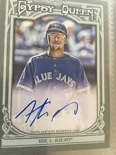 2013 Topps Gypsy Queen Autograph #GQA-AG Anthony Gose Toronto Blue Jays Baseball
