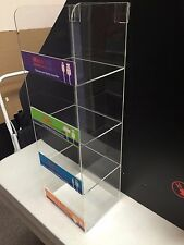 """Acrylic Display Case 6"""" x 5""""x 18"""" tall  Convenience Store Counter Top Display"""