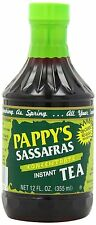 Pappy's Sassafras Concentrate Instant Tea, 12-Oz Bottles (Pack of 6)