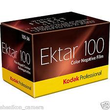 100% New Kodak Ektar 100 Professional 135 Color Negative Film 35mm ISO 100 C-41