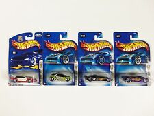 Lot of 4 Hot Wheels Mixed Assorted Carded Cars 2000's 1st edition HI Q