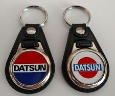 DATSUN 2 PACK OF Keychains  FOB CAR KEY CHAIN LOGO mix