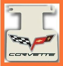 2005-2013 Corvette C6 Logo/Lettering Polished Exhaust Enhancer Plate