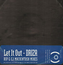 DRIZA - Let It Out - Oyster Music