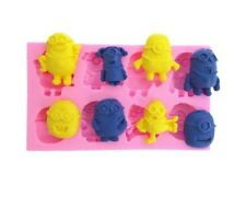 Despicable Me Minions Cartoon Silicone Polymer Resin Clay Fondant Chocolate Mold