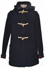 Hooded duffle coat toggles detachable hood Blue Size UK 8 EUR 36 US 4