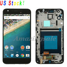 BLK For LG Google Nexus 5X H790 H791 H798 Full LCD Screen Touch Digitizer +Frame