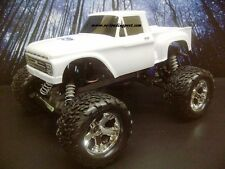 1966 Ford F-100 Custom Painted 1/10 RC Monster Truck Body For Traxxas Stampede