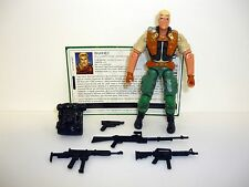 GI JOE DUKE Action Figure COMPLETE w/FILE CARD 3 3/4 C9+ v11 2002