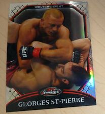 Georges St-Pierre 2011 Topps Finest Refractor UFC Card #100 GSP /888 58 65 83 74