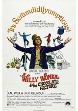 Willy Wonka & The Chocolate Factory - Gene Wilder - A4 Laminated Mini Poster
