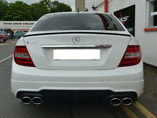 Mercedes AMG C63 W204 C Class Diffuser C63 Diffuser Saloon models from 04/2011