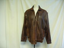 """Mens Coat -Beeline, Chest 38"""", Brown, Leather Look, Removable Sleeves,- 0362"""