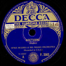 SPIKE HUGHES & HIS NEGRO ORCH. Nocturne / Someone stole Gabriel's horn  X1043