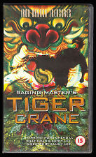 RAGING MASTER'S - TIGER CRANE - WONG CHENG LI, BILLY CHAN - VHS PAL (UK) VIDEO
