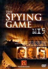 THE HISTORY CHANNEL - THE SPYING GAME - MI5 (VERY GOOD CONDITION REGION 2 DVD)