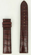 Original Tissot PRC200 Watch Strap XL T610014578 Brown Leather Band T171516 19mm