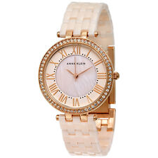 Anne Klein Pink Mother of Pearl Dial Quartz Ladies Watch 2130RGLP