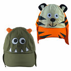 SUN HAT Baby Boy Girl Toddler Summer Legionnaire TIGER|MONSTER Cotton 1-4 Years
