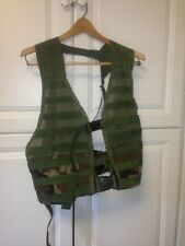 MOLLE II Fighting Load Carrier Zipper Vest US Military SDS FLC Excellent 200