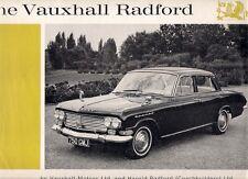 Vauxhall Cresta Radford PB Saloon 1963-64 UK Market Sales Brochure