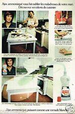 Publicité advertising 1972 Produits de Nettoyage entretien Ajax