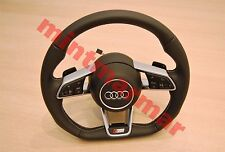 NEW AUDI S LINE S4 S5 A4 A5 TT TTS MLF PADDLE SHIFT STEERING WHEEL 1052