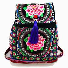 Hmong Tribal Ethnic Thai Indian rucksack embroidery Boho Hippie backpack bag 174