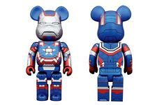 Iron Patriot Iron Man 3 Bearbrick 400% Figure Marvel Medicom Be@rbrick Avengers