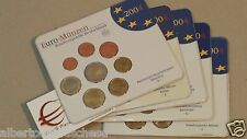 2004 5 x 8 monet 19,4 euro ADFGJ Germania allemagne germany Deutschland Alemania