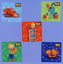 15 Bob the Builder Christmas Holiday - Large Stickers - Party Favors - Rewards