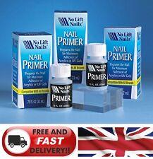 Nail Primer for Acrylics or UV Gel  22ml - No Lift Nails -  USA No 1 PRIMER