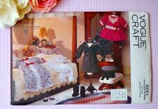 "Vogue 8241 417 18"" Girl Clothes Doll Pattern Victorian Vintage by Linda Carr"