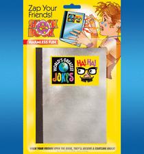 SHOCK BOOK POWERFUL HARMLESS ELECTRIC ZAP GAG JOKE PRANK NOVELTY TRICK MAGIC