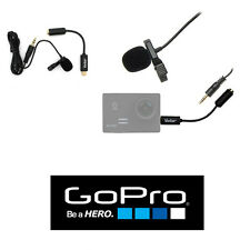 External Pro Lavalier Microphone For all GoPro Hero2 HER03 HERO4 HERO+ BLACK