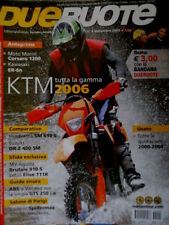 Dueruote 5 2005 KTM la gamma del 2006. Moto Corsaro 1200, Kawasaki ER-6n [Q70]