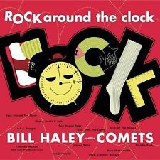 Bill Haley & His Comets CD issue of iconic Lp ROCK AROUND THE CLOCK, sealed