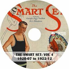 The Smart Set: A Magazine of Cleverness Vol 4 (1920-1922) ~ 30 Issues on DVD