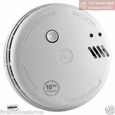 AICO Ei166RC Ei Professional OPTICAL SMOKE FIRE ALARM Mains 230v Hush Landlords