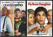 Guess Who (DVD, 2005, WS) & My Boss's Daughter (DVD, 2004, WS)