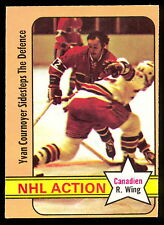 1972 73 OPC O PEE CHEE #44 YVAN COURNOYER NM MONTREAL CANADIENS IA HOCKEY CARD
